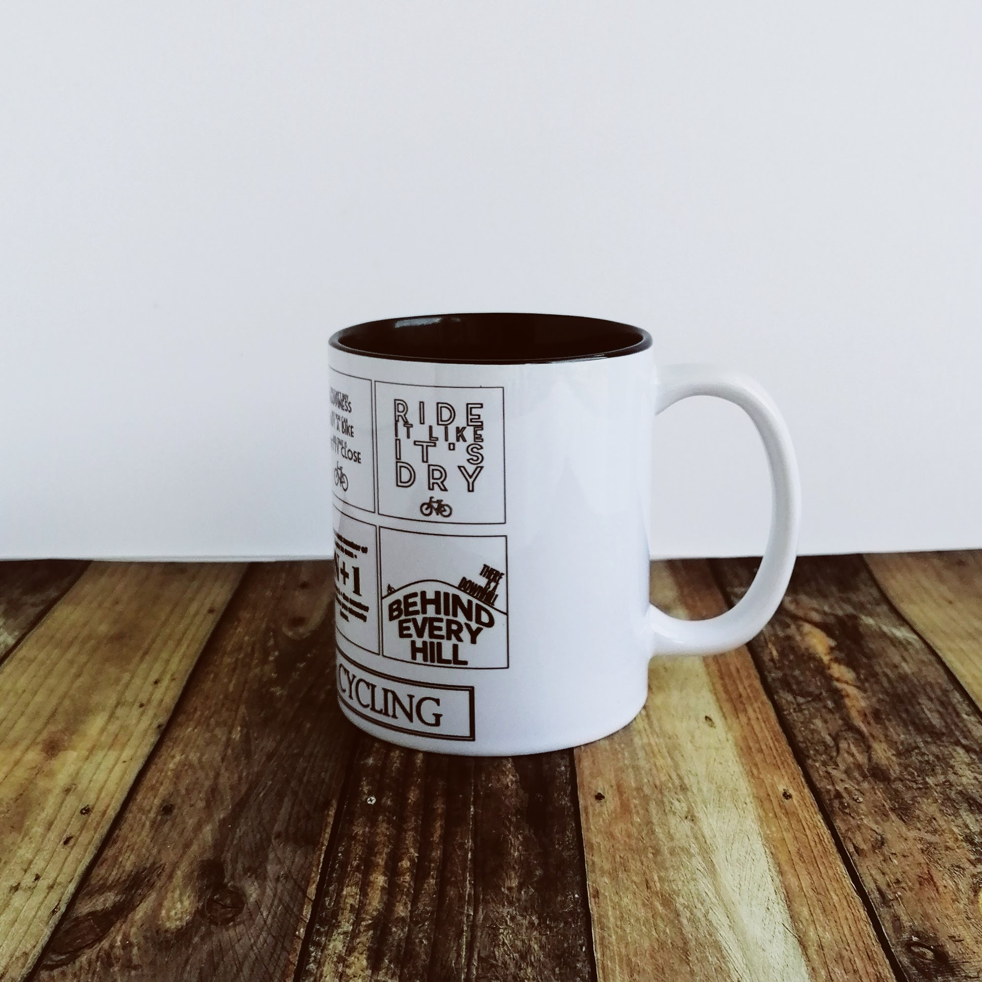 Worry Less Designs Cycling Laws Mug | Misc. Multimedia