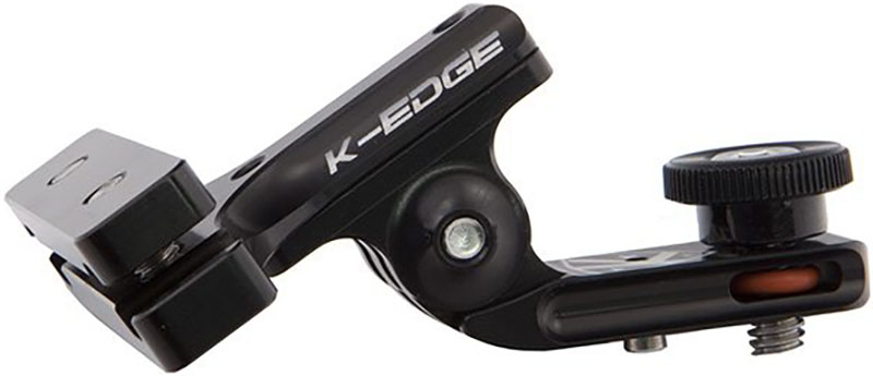 K-Edge Go Big Pro 1/4 - 20 Saddle Rail With Adapter | Cycle computers