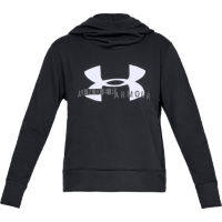 Under Armour Womens Cotton Fleece Sportstyle Logo Hoodie