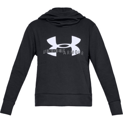 Under Armour Women's Cotton Fleece Sportstyle Logo Hoodie