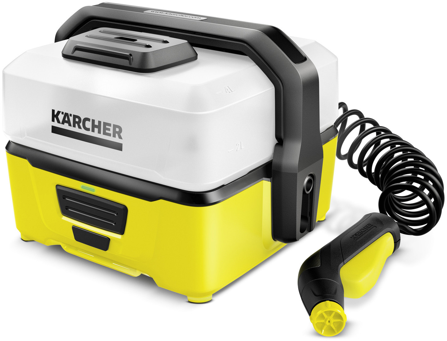 Karcher OC3 Mobile Outdoor Washer   polish_and_lubricant_component