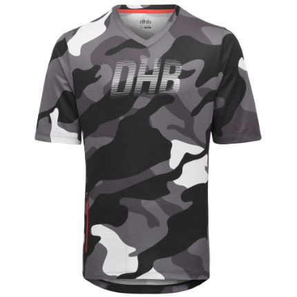 dhb All Mountain Short Sleeve Jersey - Camo SS19
