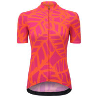 dhb Blok Womens Short Sleeve Jersey - JUNGLE