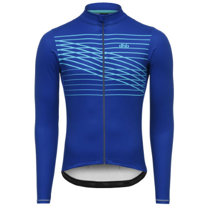dhb Classic Long Sleeve Jersey - ZIGZAG