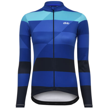 dhb Classic Women's Long Sleeve Jersey - OVERLAY