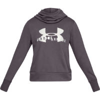 Under Armour Womens Cotton Fleece Logo Hoodie