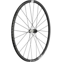 DT Swiss ER 1600 Spline DB Front Road Wheel:700c:12mm:Black