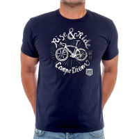 Cycology Rise and Ride T-Shirt Navy M
