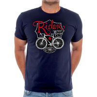 Cycology Rider Not a Racer T-Shirt Navy S