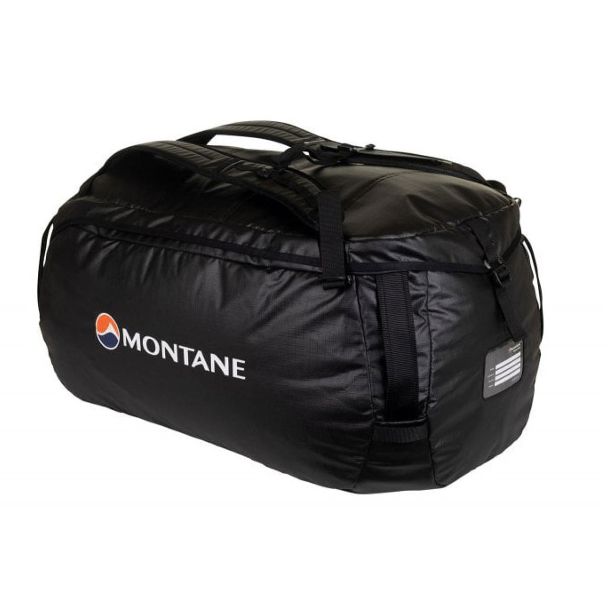 Montane Transition 60 Duffle Bag - One Size Black 2  Transition Bags