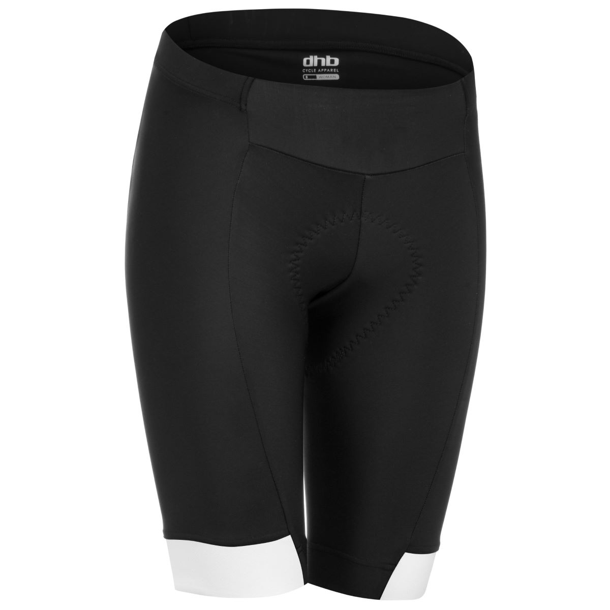 dhb Aeron Women's Shorts - UK 8 Black/White | Waist Shorts