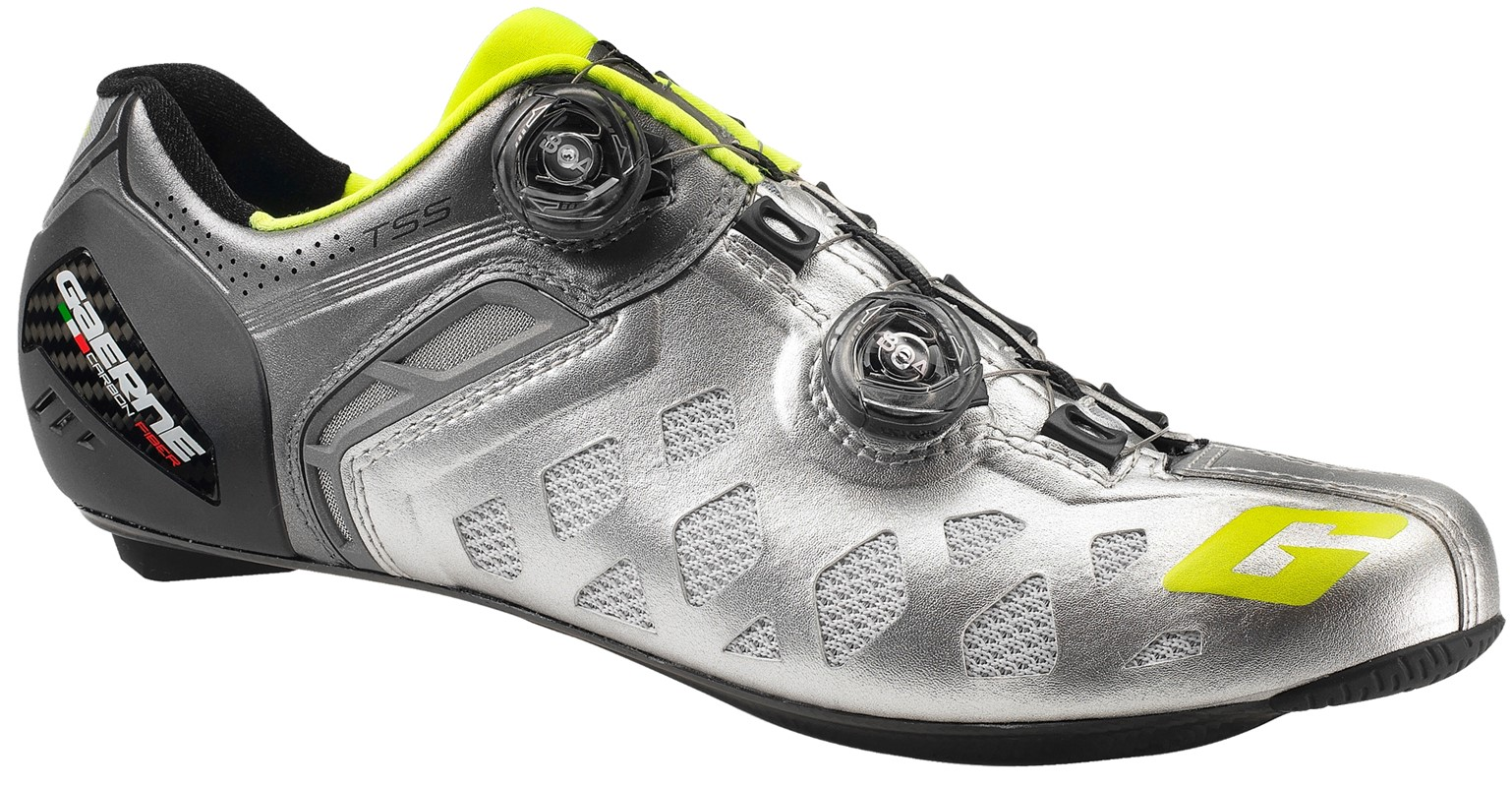 Gaerne Carbon Stilo Summer SPD-SL Road Shoes | Shoes and overlays