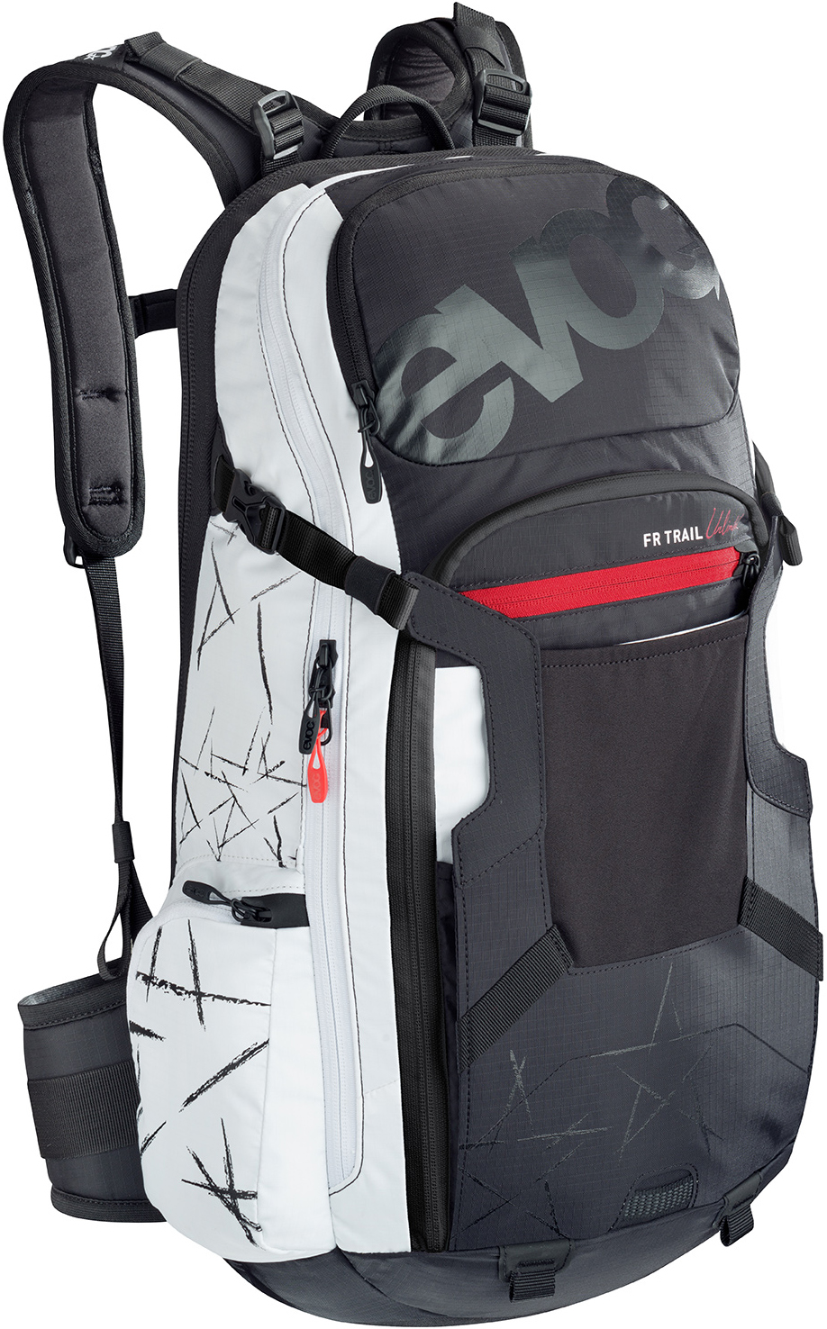 Hydration backpack Evoc Trail 2017 - Back protector