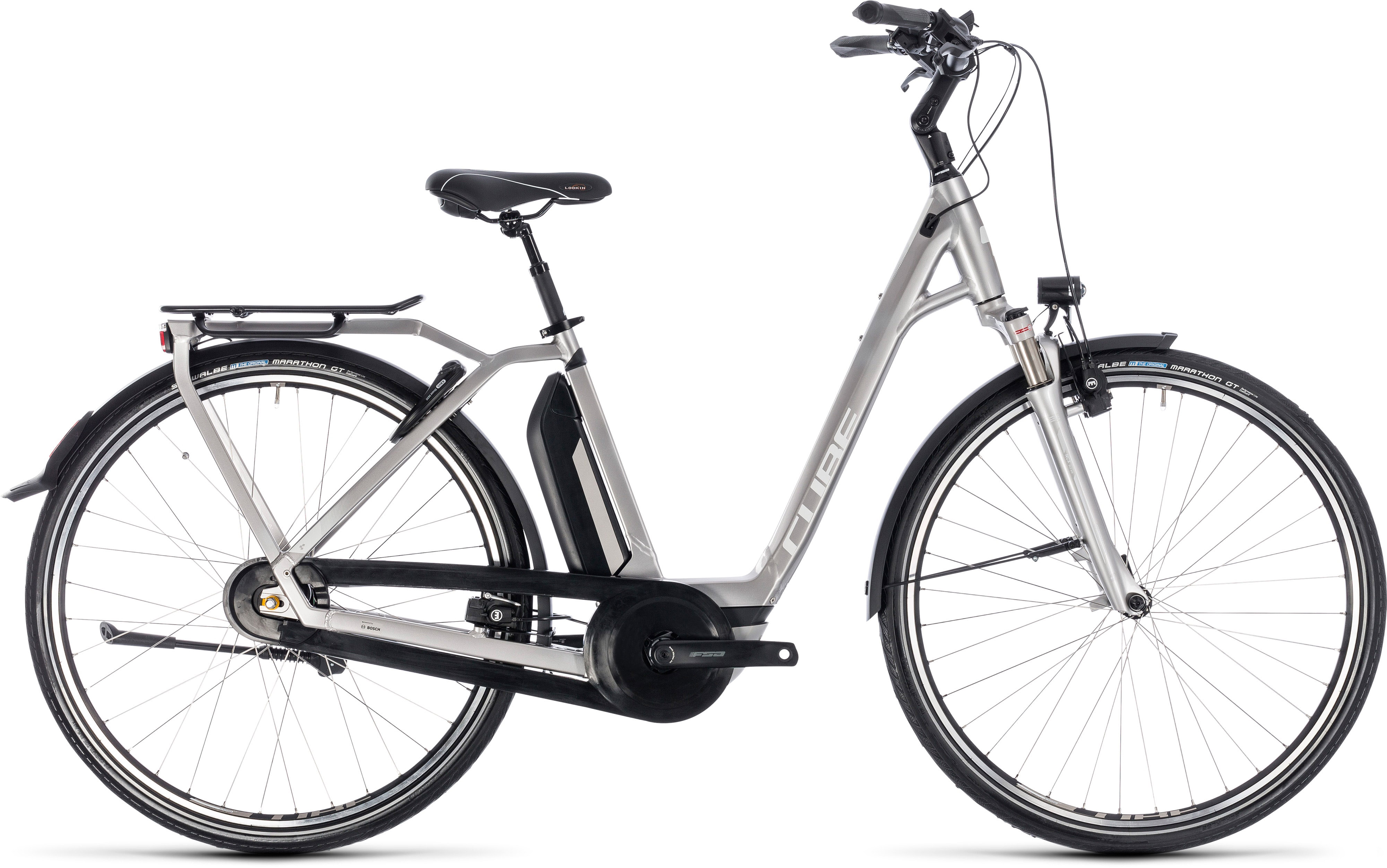 Cube Town Hybrid EXC 500 Easy Entry E-Bike (2018) | City