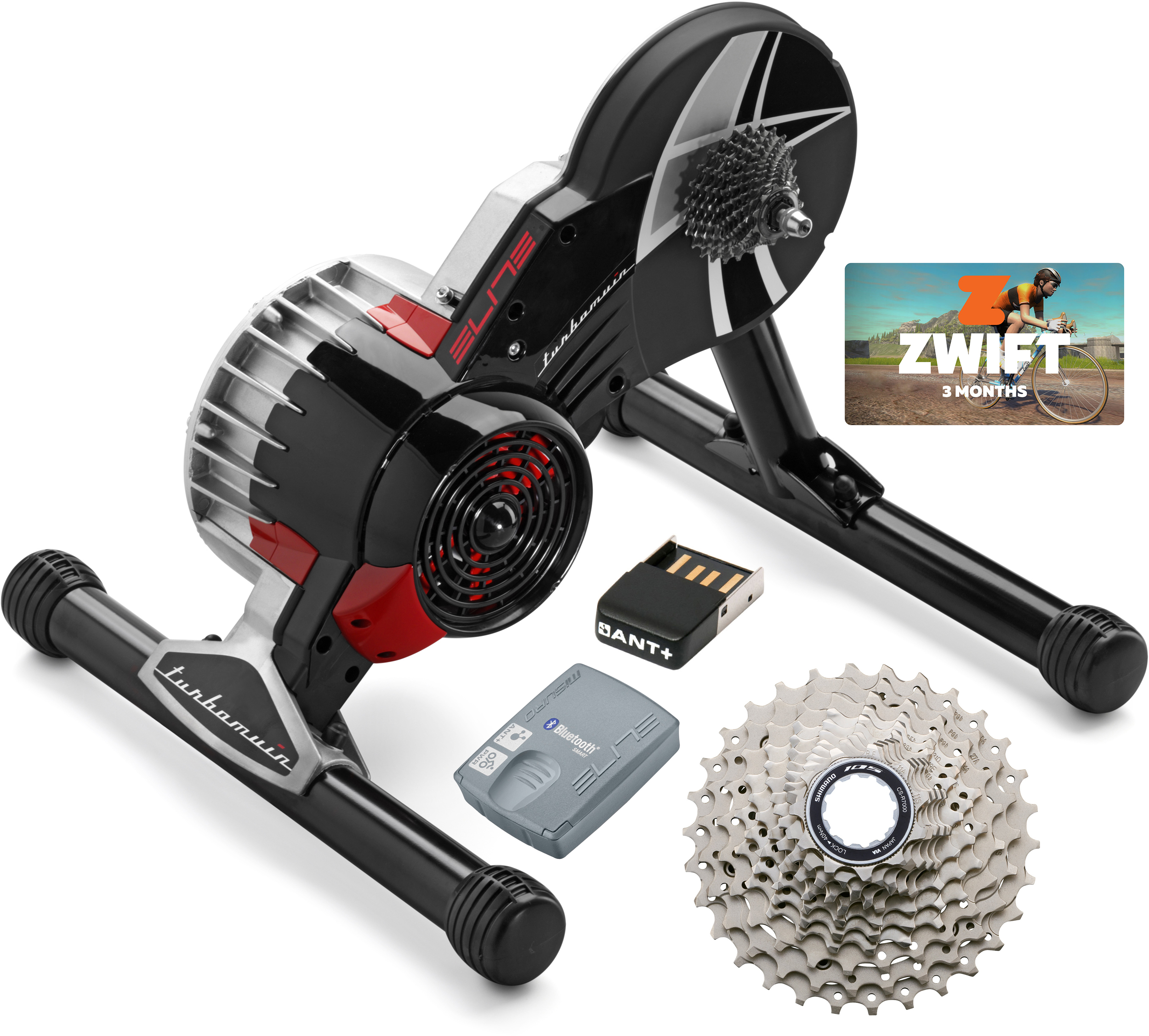 Elite Turbo Muin II Fluid Zwift Bundle