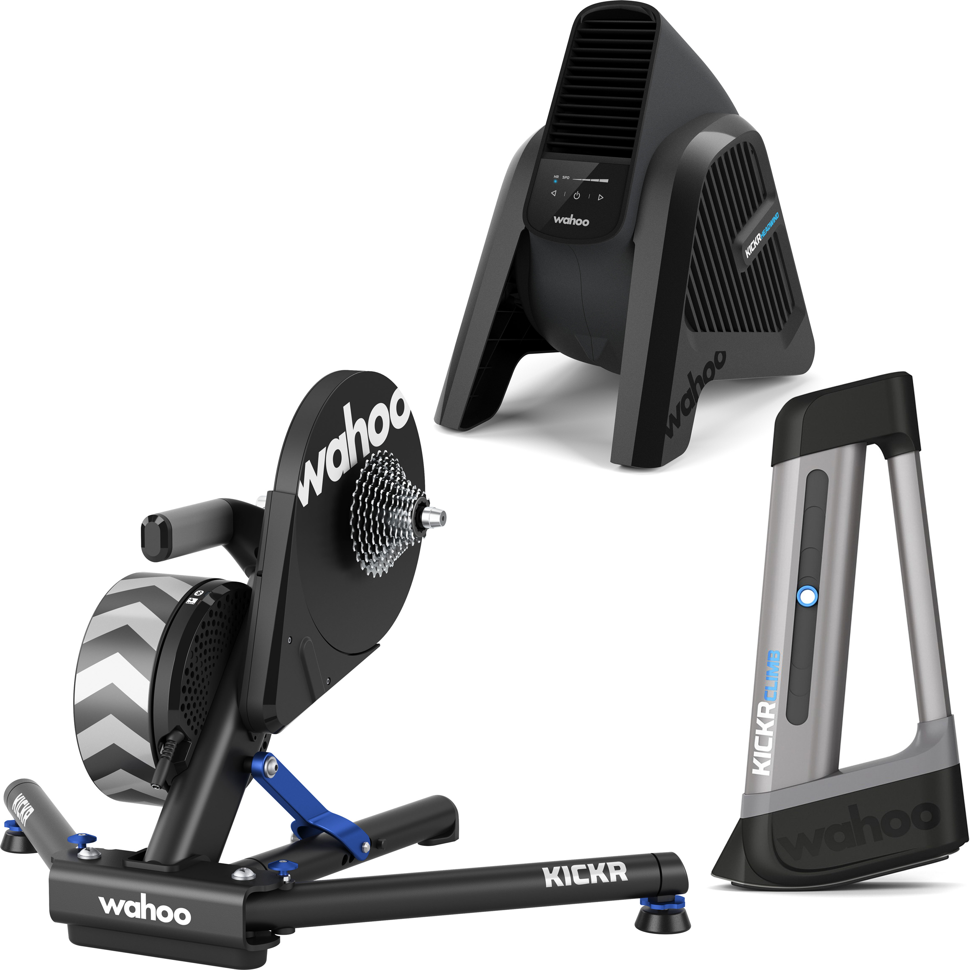 Turbo trainer WAHOO kickr-Snap Smart Trainer and Kickr POWER