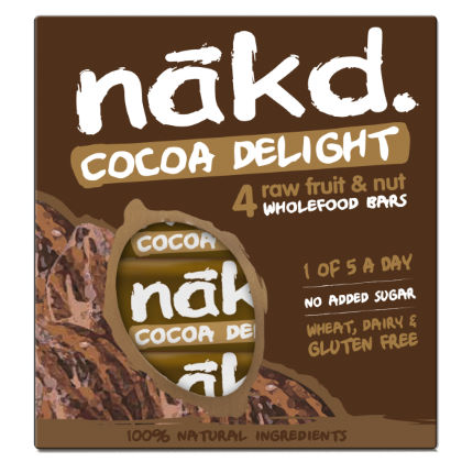 nakd. Fruit and Nut Bars  (4 x 35g)