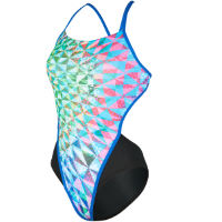 MP Womens Chrystal Open Back Swimsuit