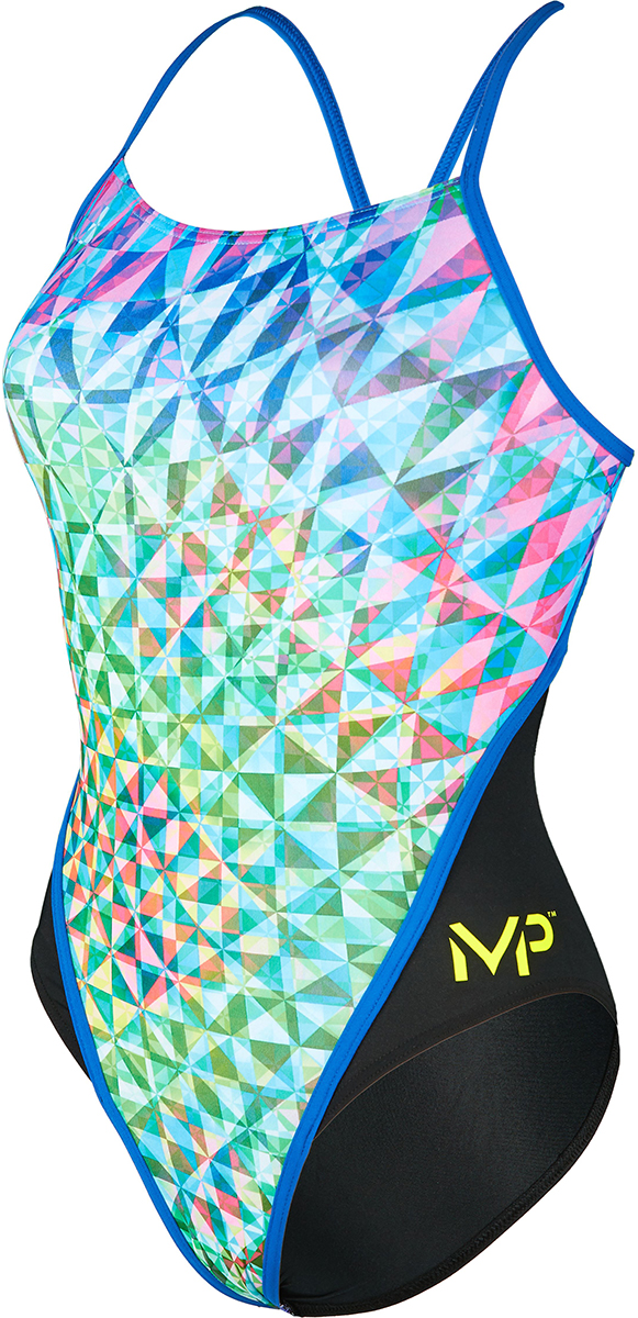 MP Womens Chrystal Racer Back Swimsuit | swim_clothes