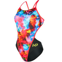 MP Womens Foggy Open Back Swimsuit