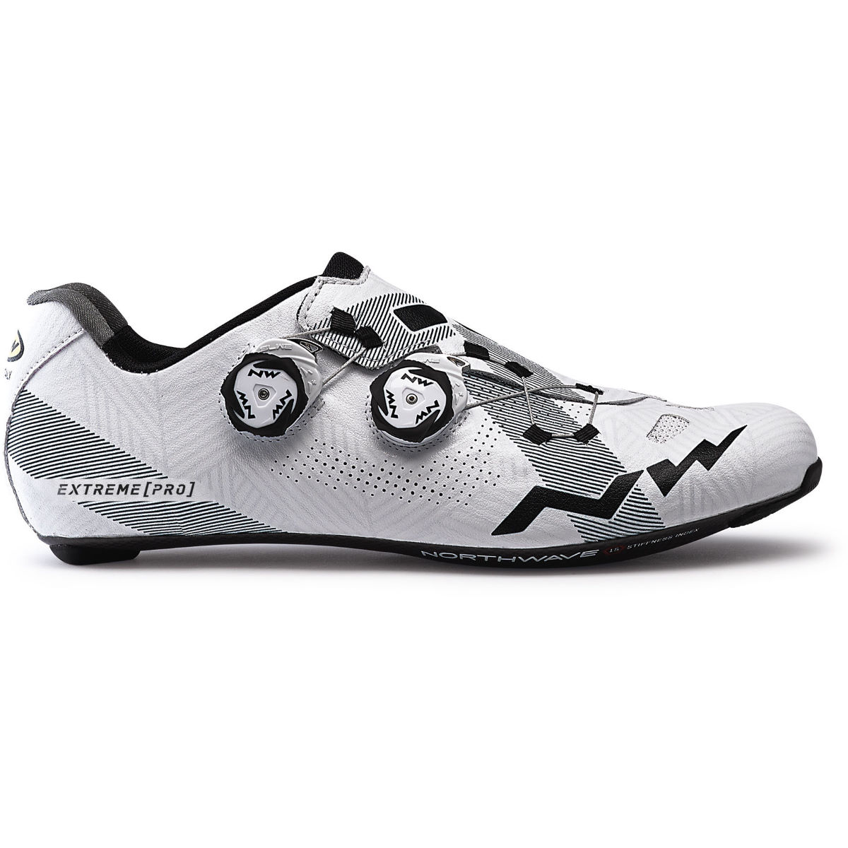 Northwave Extreme Pro Road Shoes - 39 White/grey  Cycling Shoes