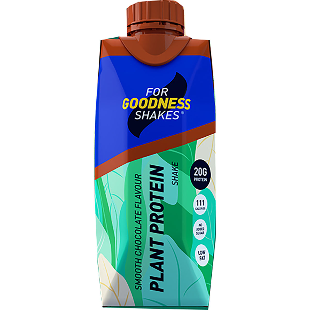 Image of Shake For Goodness Shakes Plant Protein - 330ml Smooth Chocolate