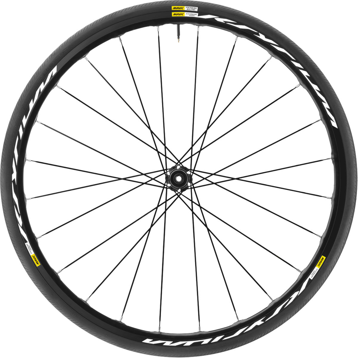 Mavic Ksyrium Disc TA Front Wheel - Front wheels