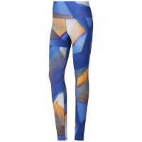 Reebok Womens Y Lux Bold High Ride Gym Tight