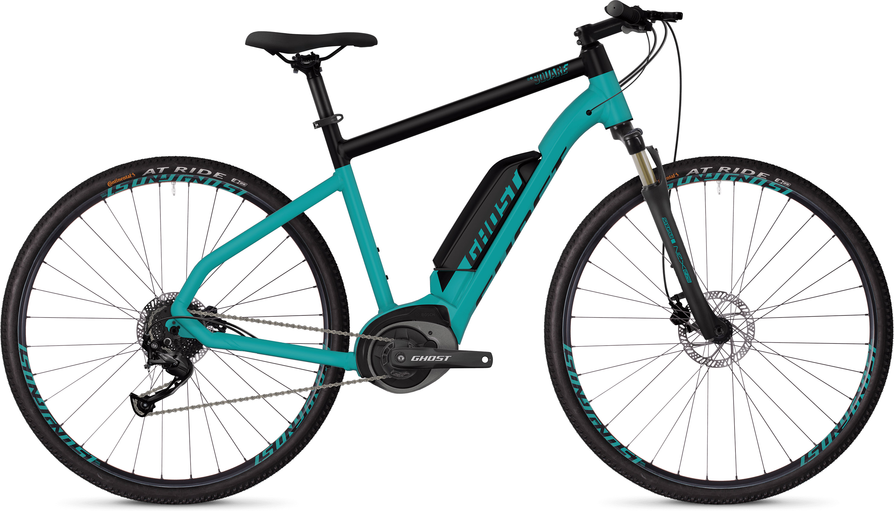 Ghost Square Cross B1.8 E-Bike (2019) |