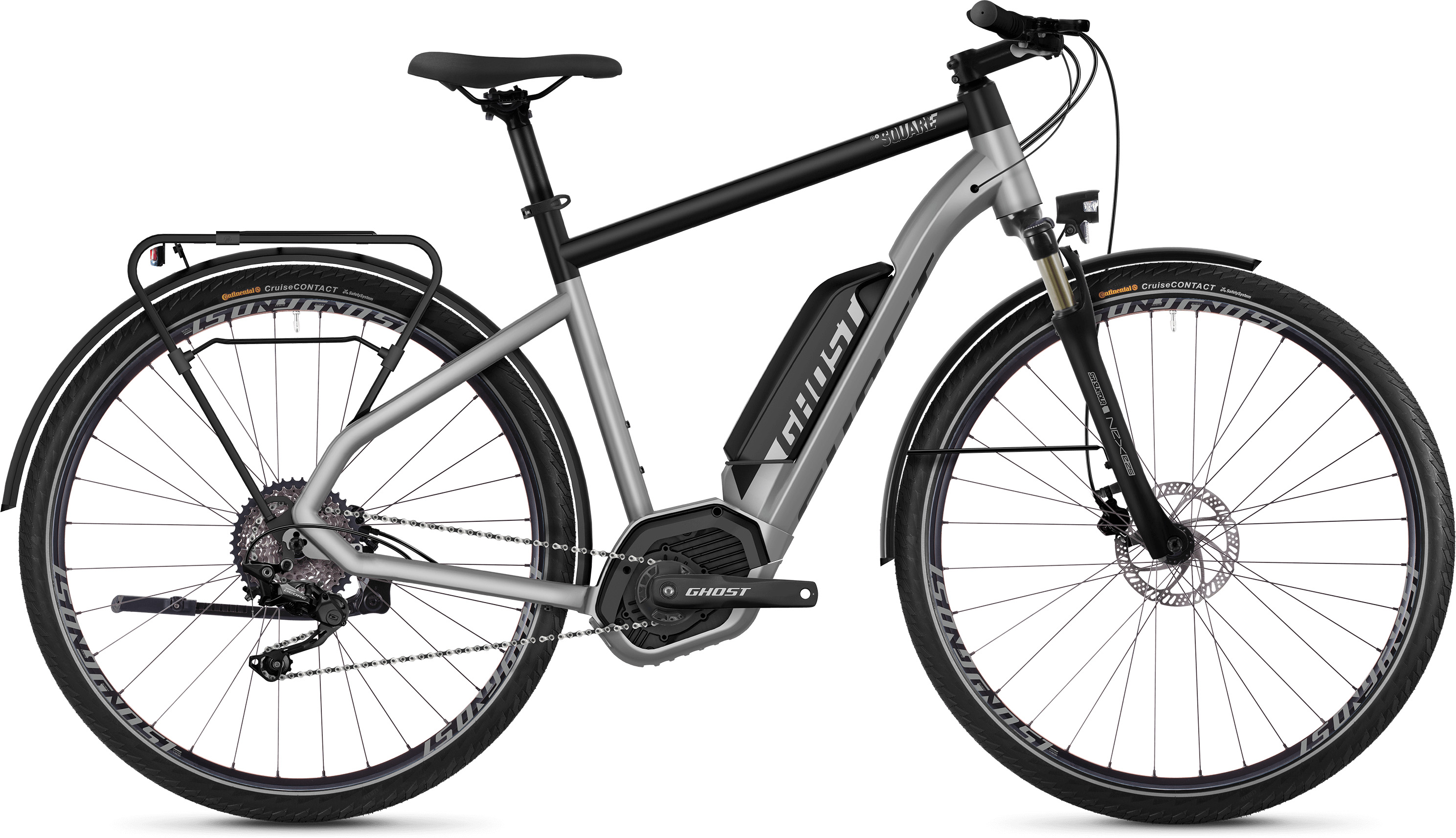 Ghost Square Trekking B2.8 E-Bike (2019) | City-cykler