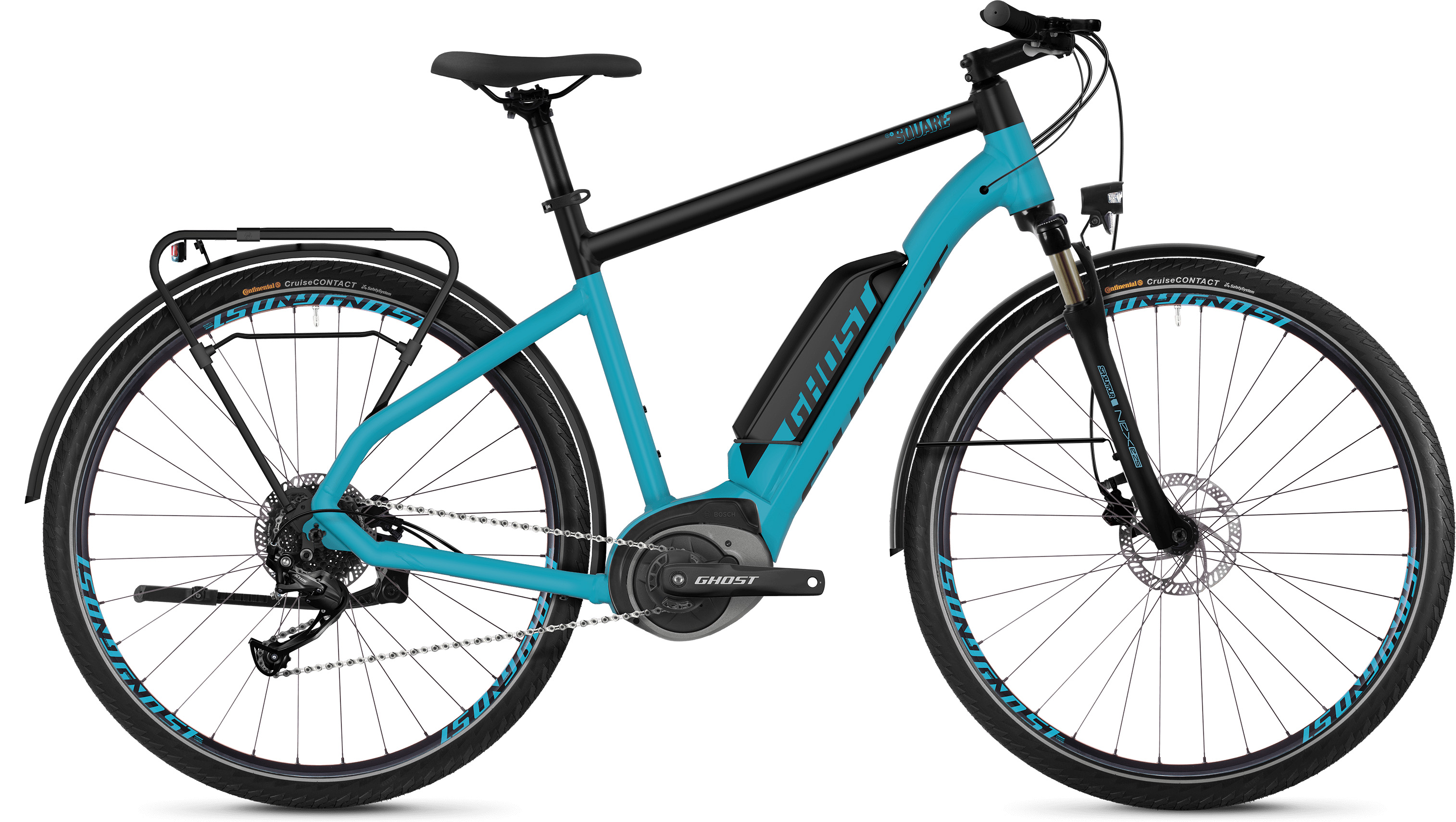 Ghost Square Trekking B1.8 E-Bike (2019) | City-cykler