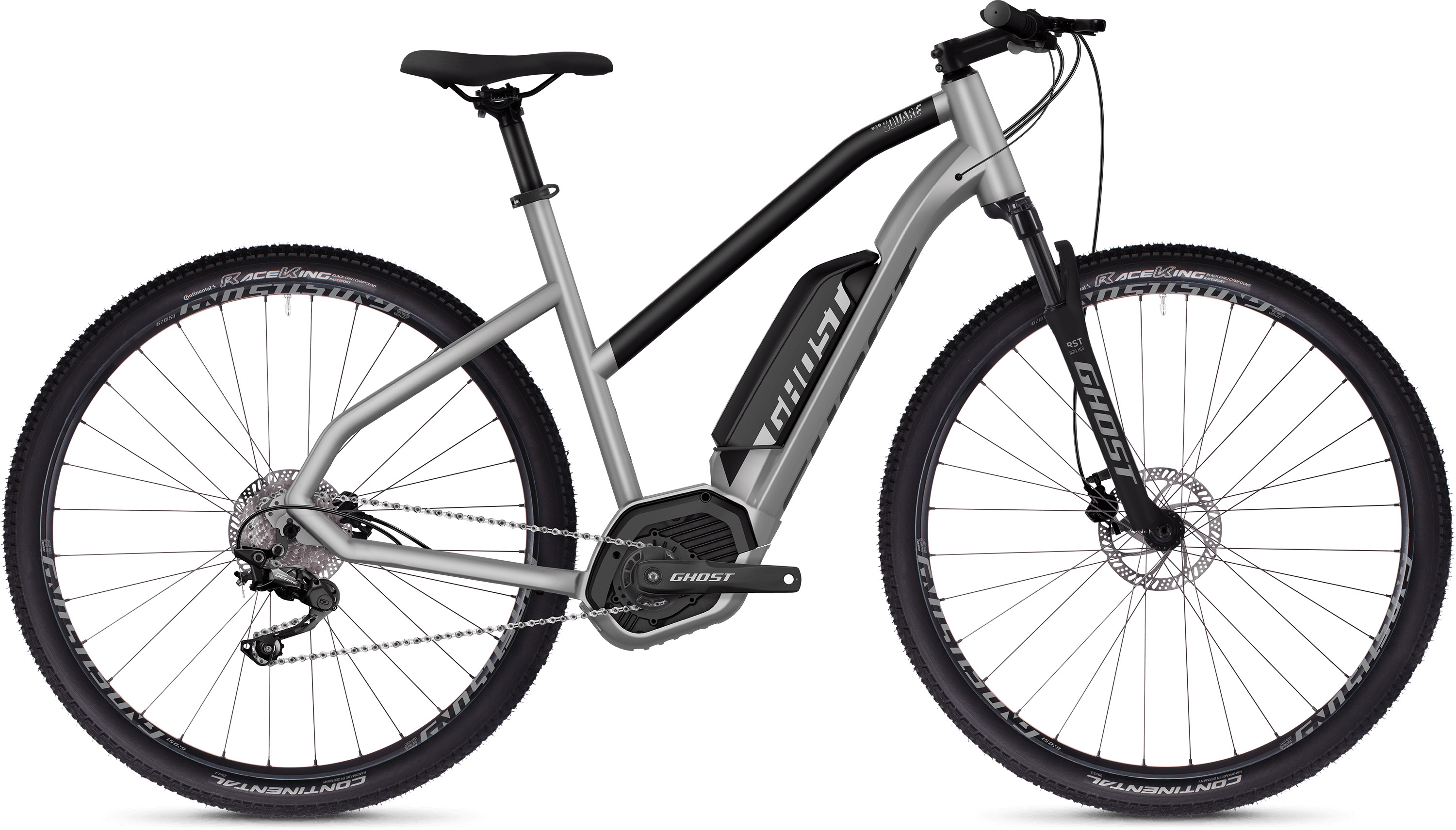 Ghost Square Cross B2.9 Women's E-Bike (2019) | City-cykler