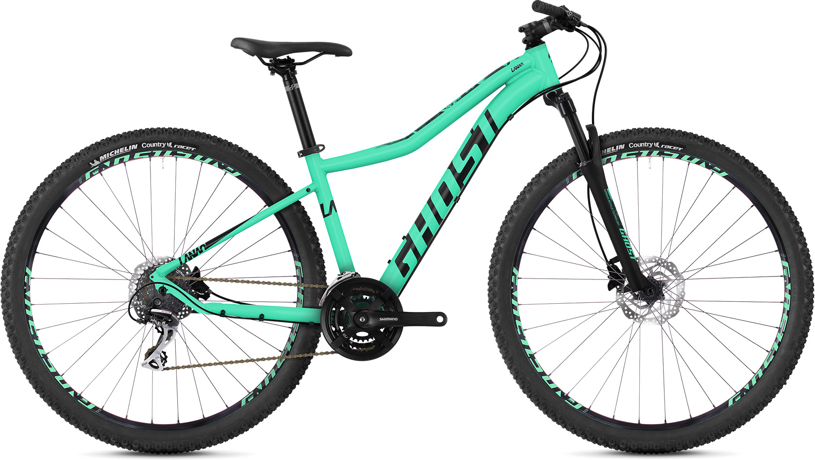 Ghost Lanao 3.9 Women's Hardtail Bike (2019) | Mountainbikes
