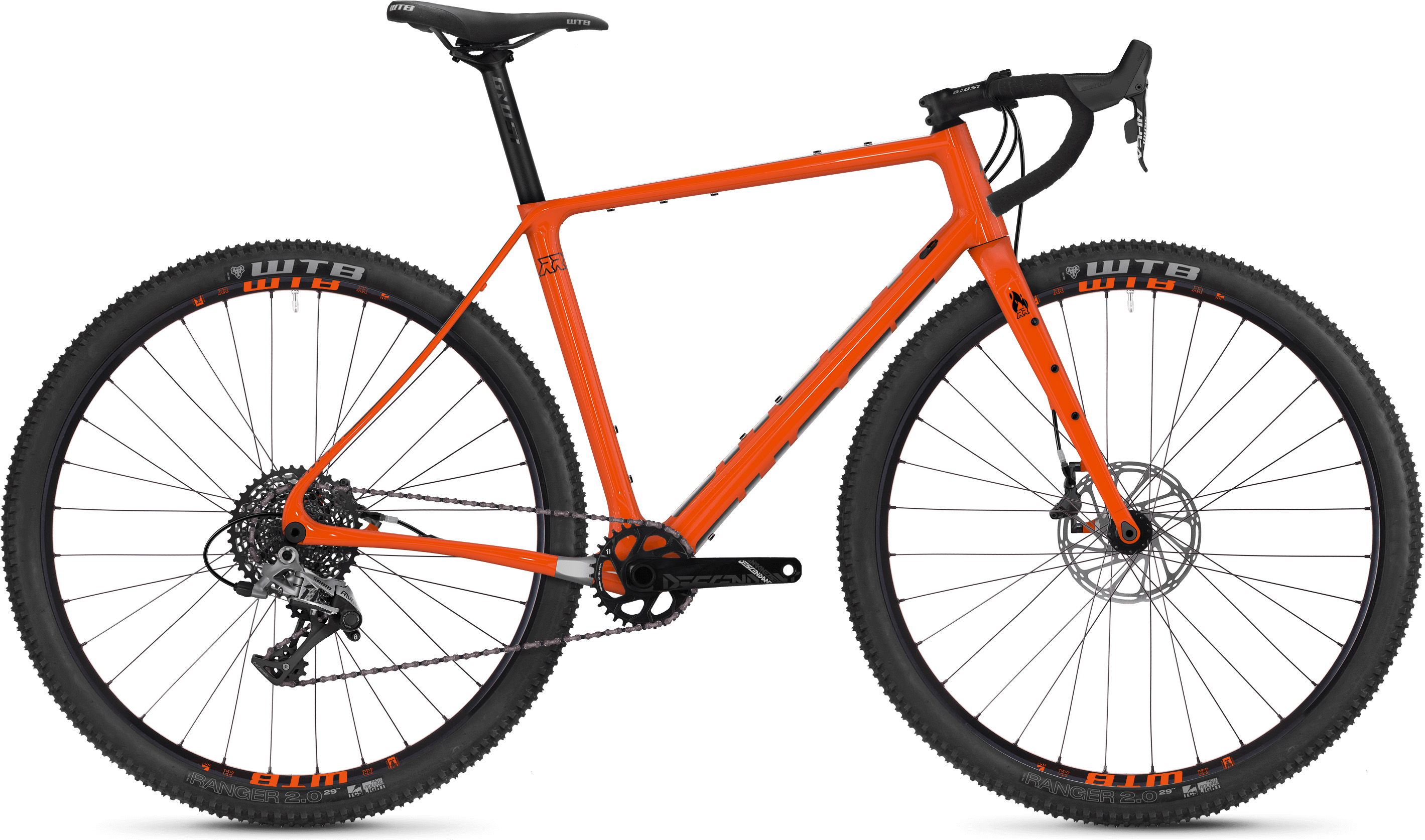 Ghost Fire Road Rage 6.9 Adventure Road Bike (2019) | Racercykler