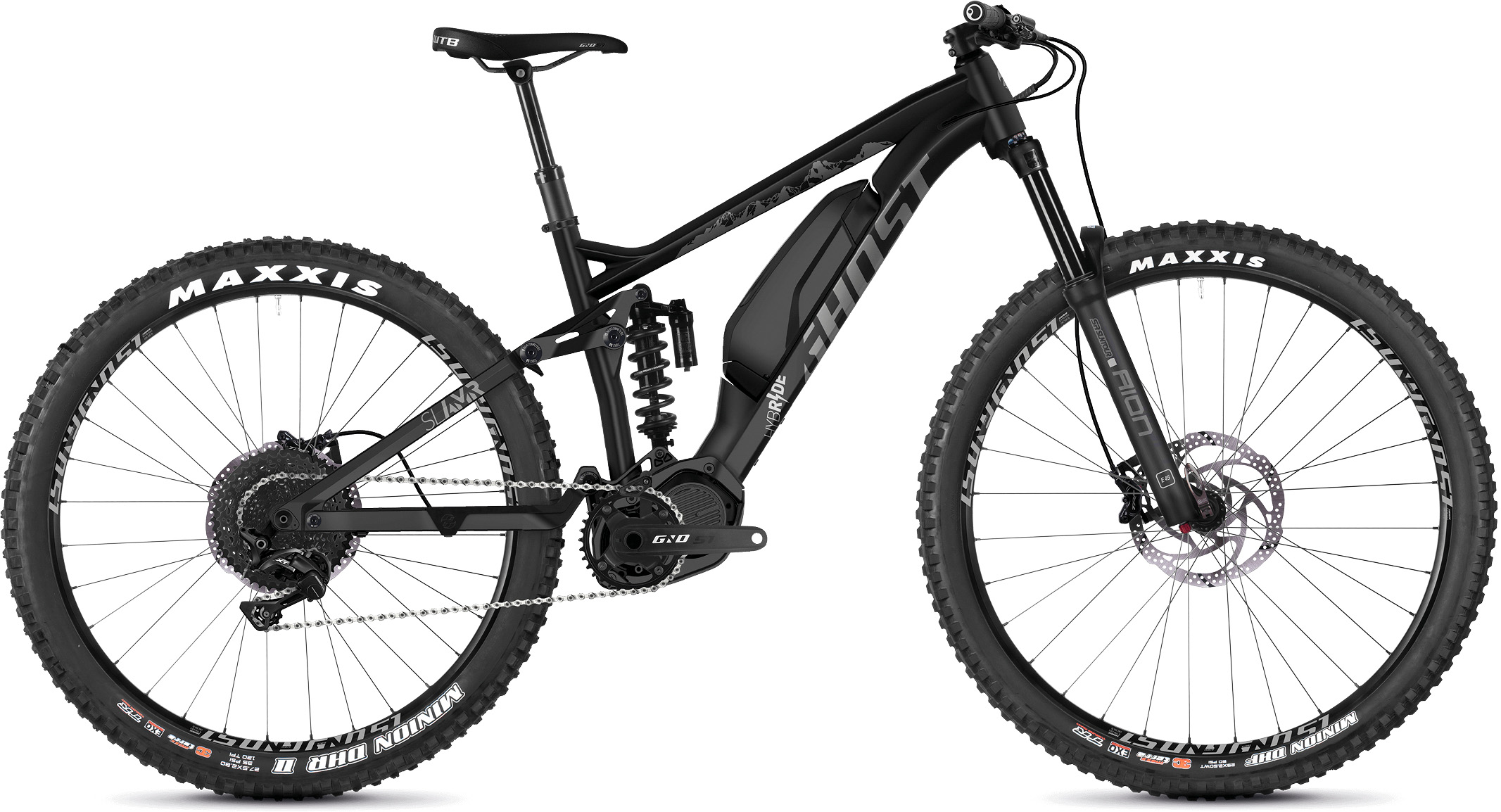 Ghost Slamr S1.7+ Full Suspension E-Bike (2019) | City-cykler