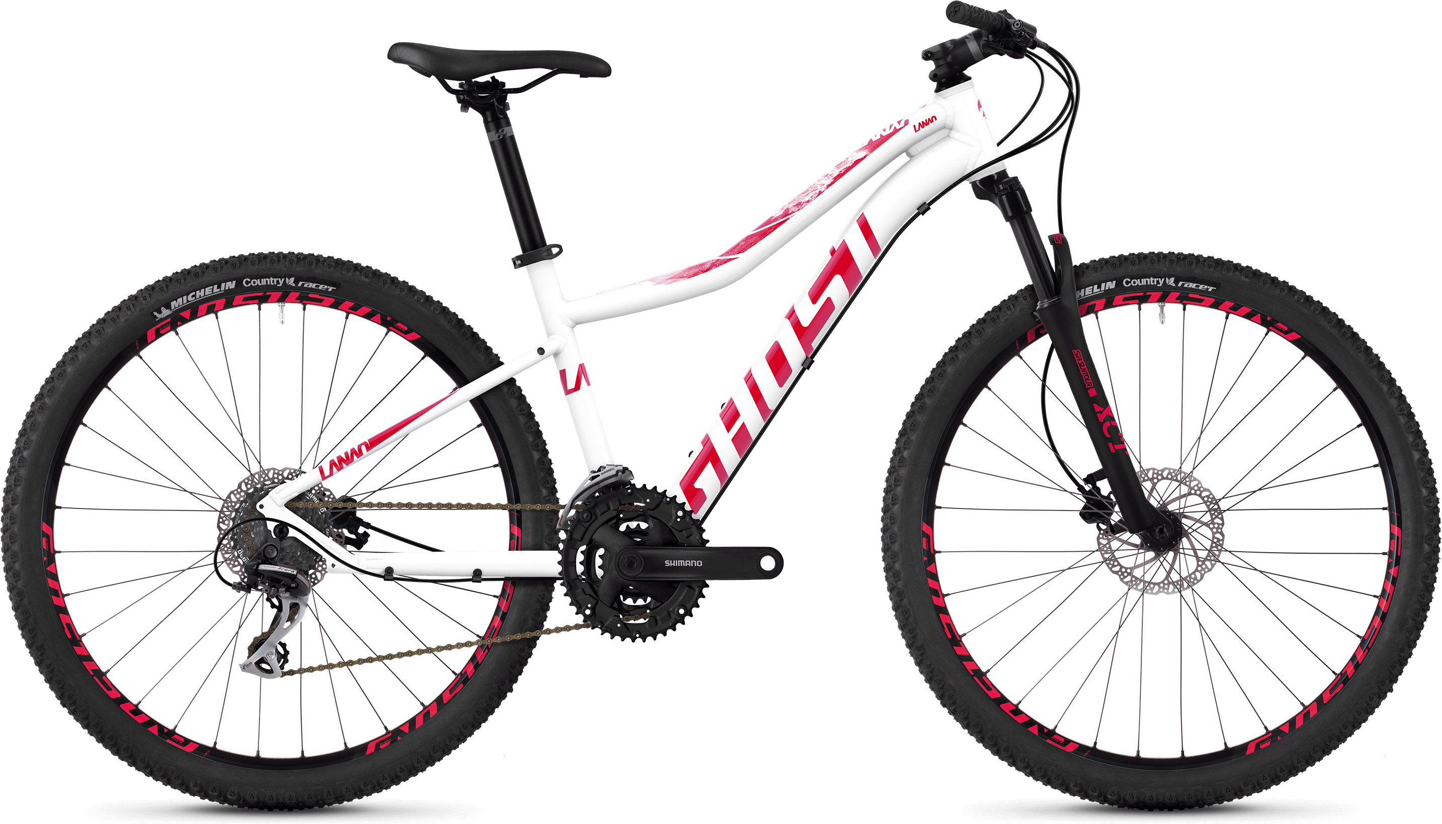 Ghost Lanao 2.7 Women's Hardtail Bike (2019) | Mountainbikes