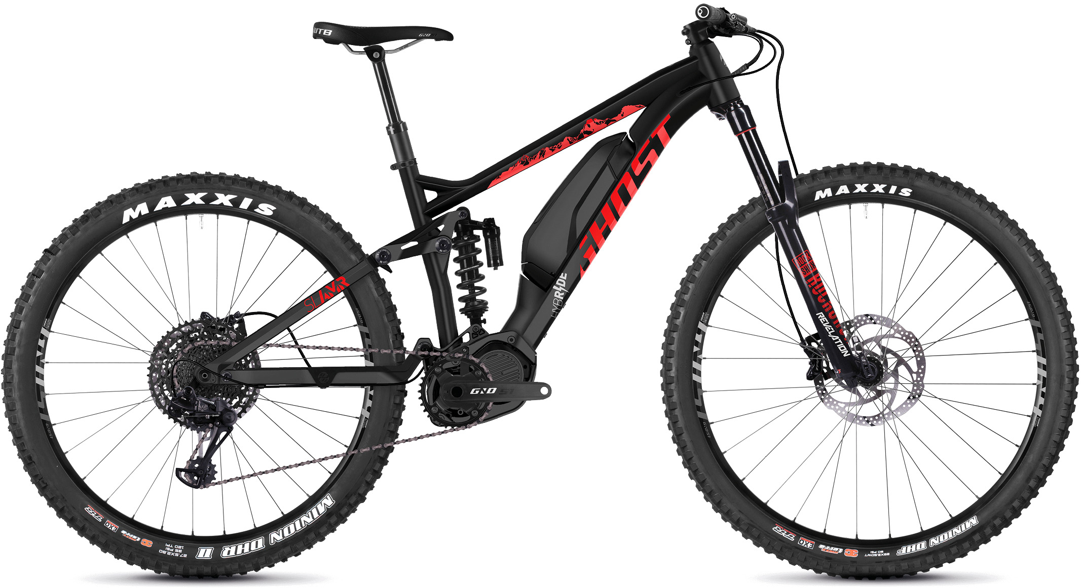 Ghost Slamr S2.7+ Full Suspension E-Bike (2019) | Mountainbikes