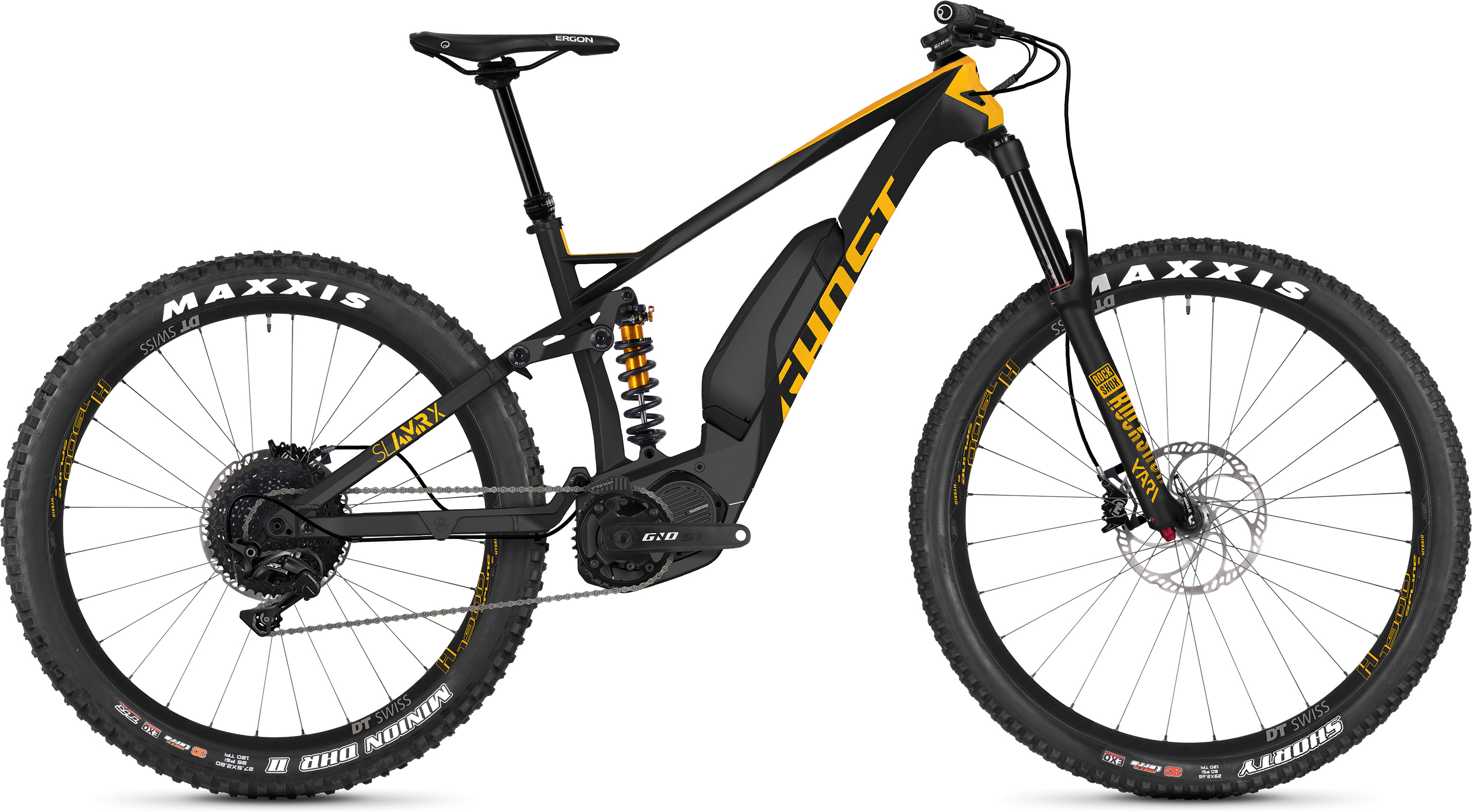 Ghost Slamr X S5.7+ Full Suspension E-Bike (2019) | Mountainbikes