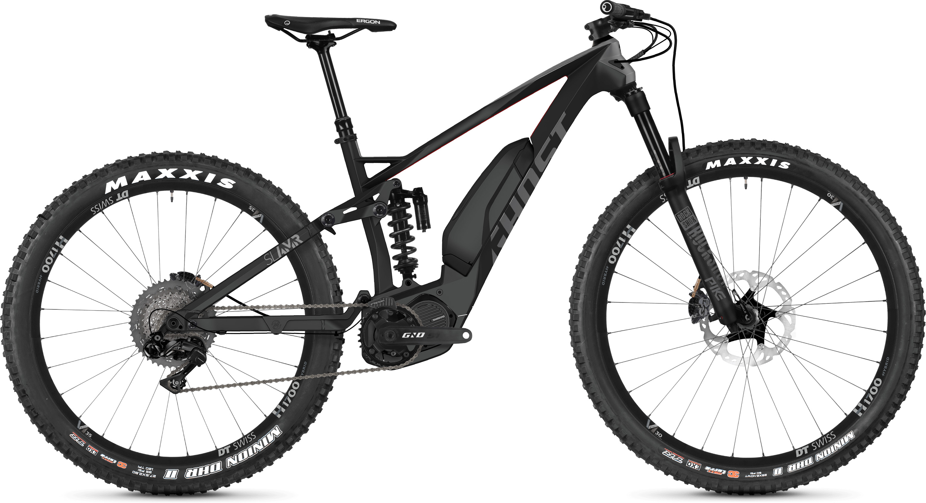 Ghost Slamr S8.7+ Full Suspension E-Bike (2019) | Mountainbikes
