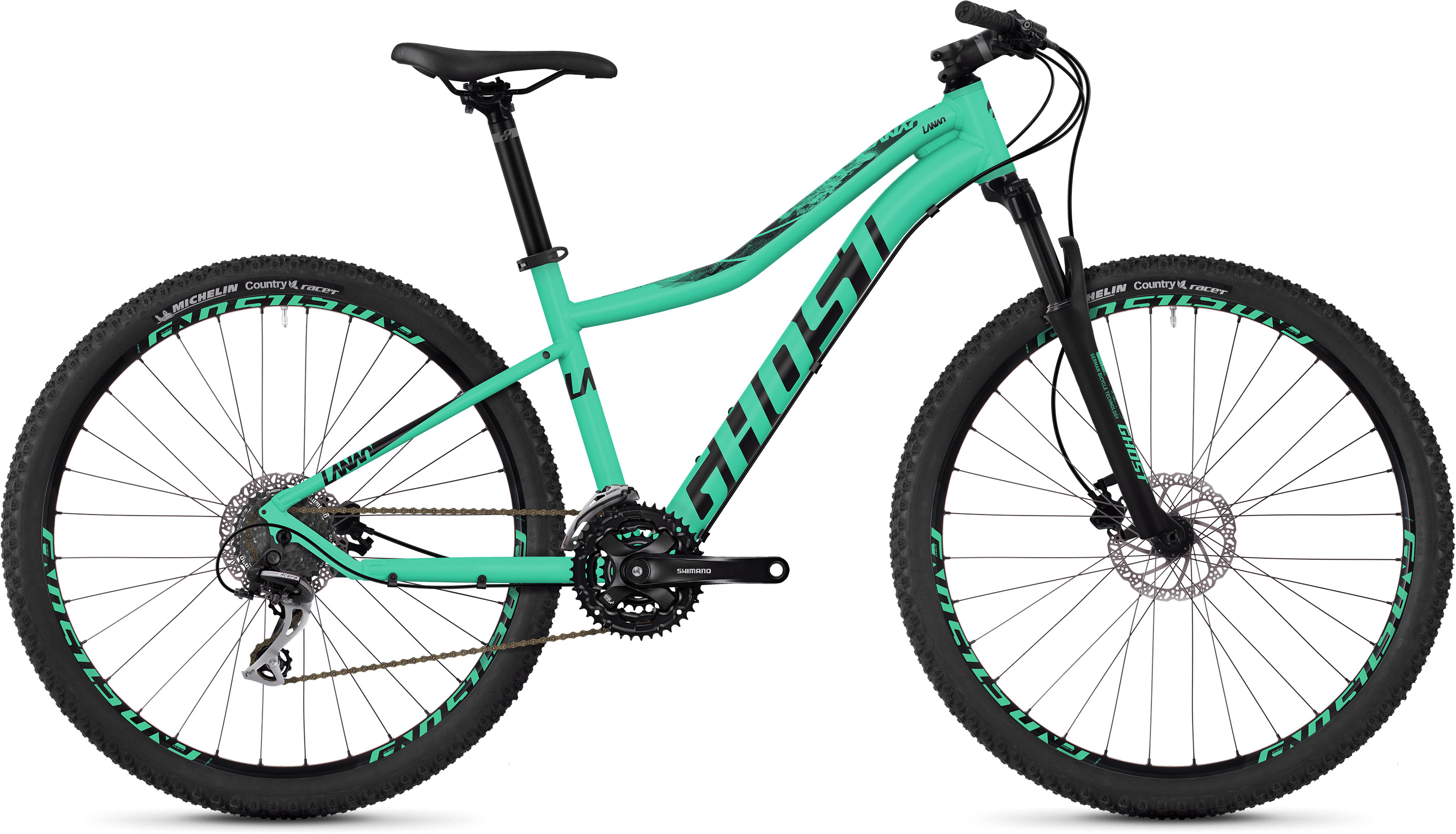 Ghost Lanao 3.7 Women's Hardtail Bike (2019) | Mountainbikes