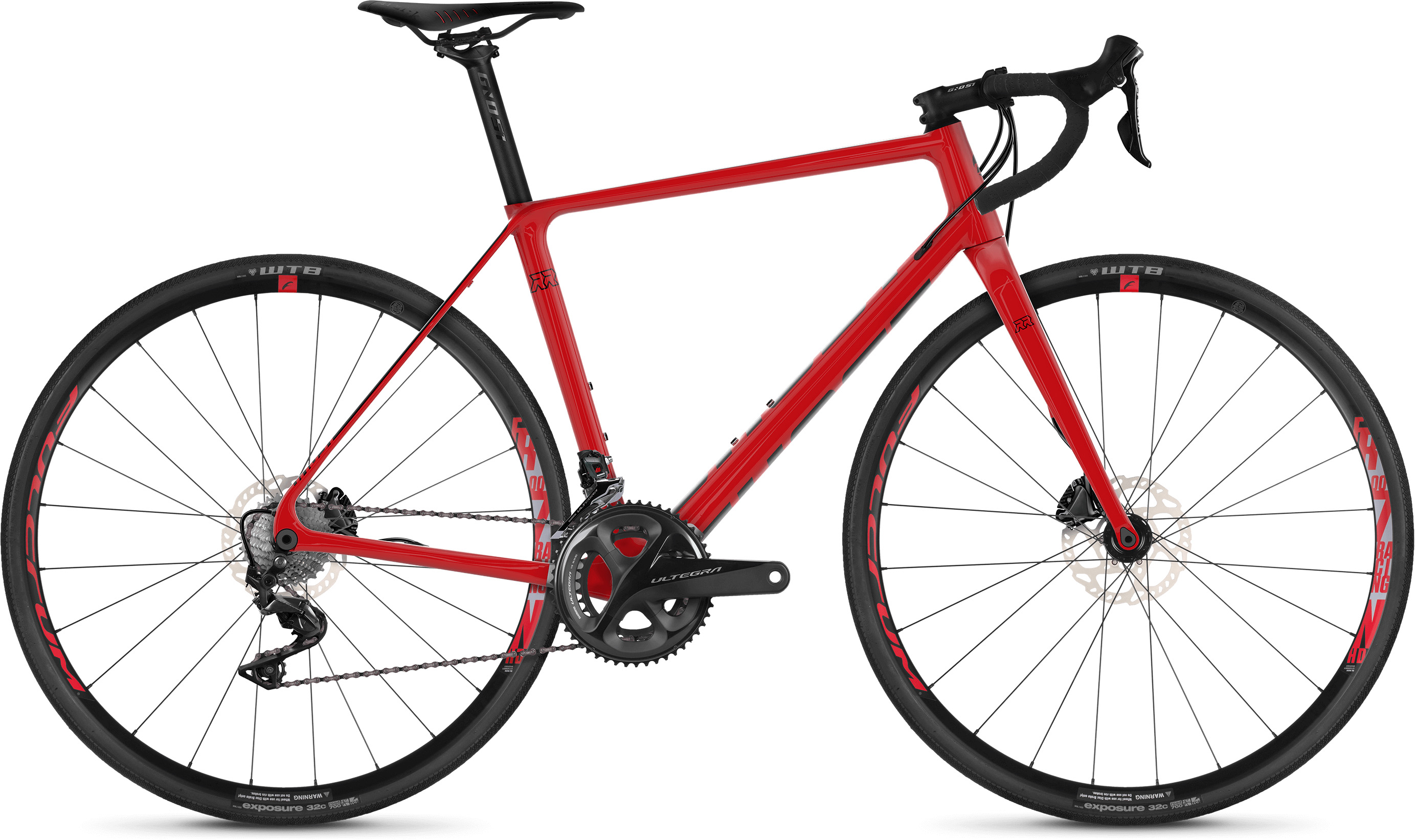 Ghost Road Rage 3.8 Adventure Road Bike (2019) | Racercykler