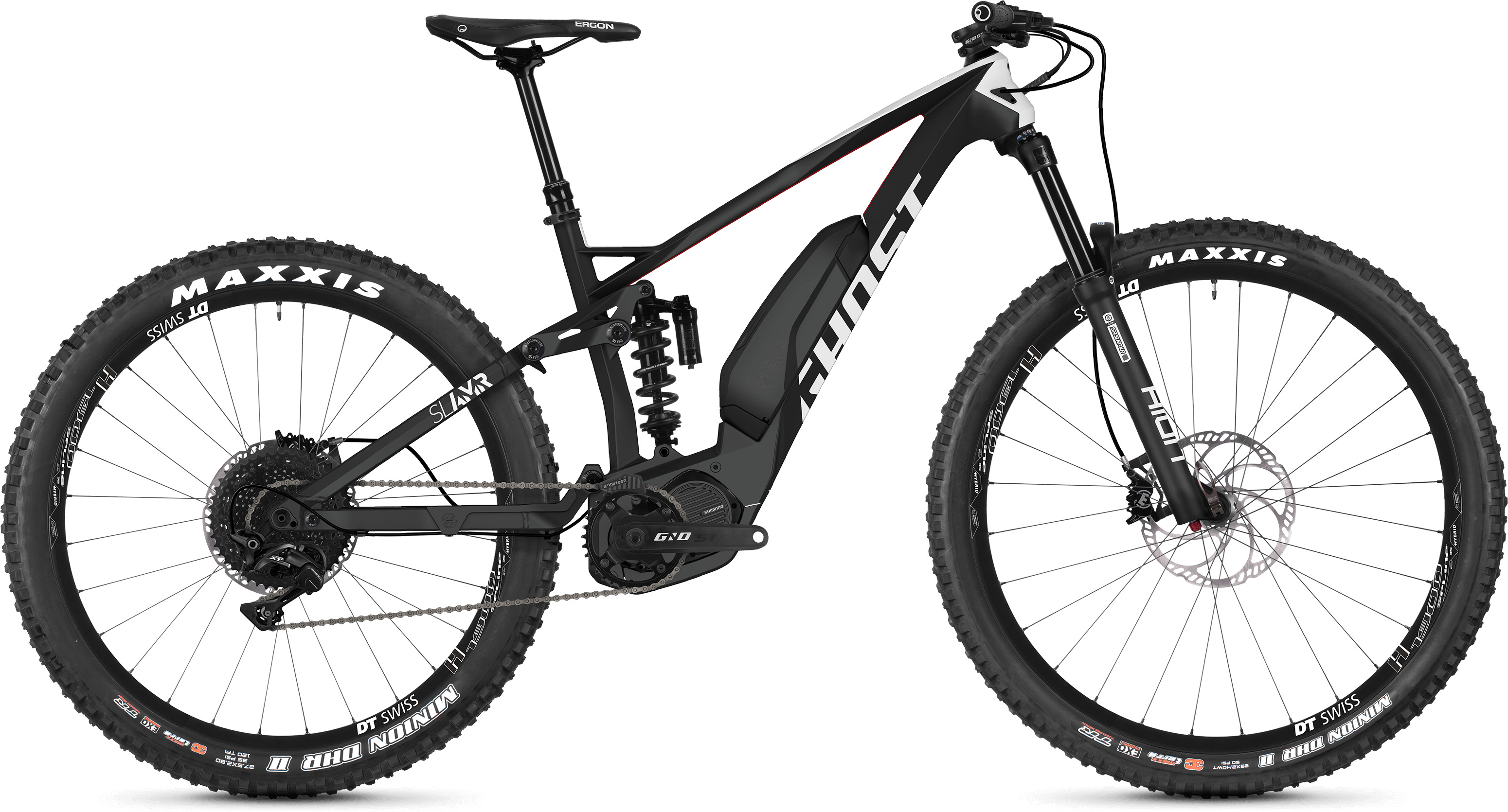 Ghost Slamr S4.7+ Full Suspension E-Bike (2019) | Mountainbikes