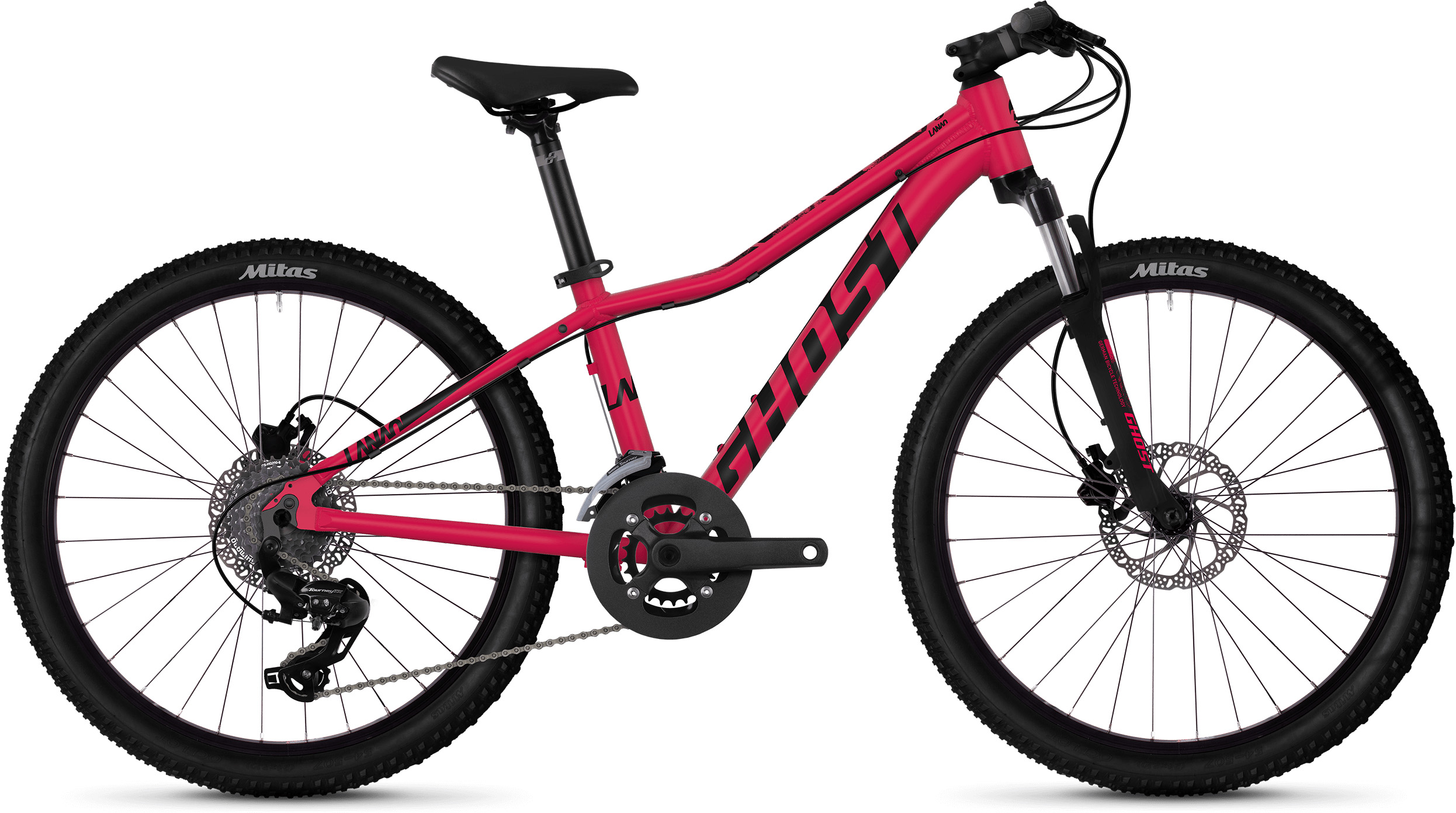 Ghost Lanao D4.4 Kids Bike (2019) | City-cykler