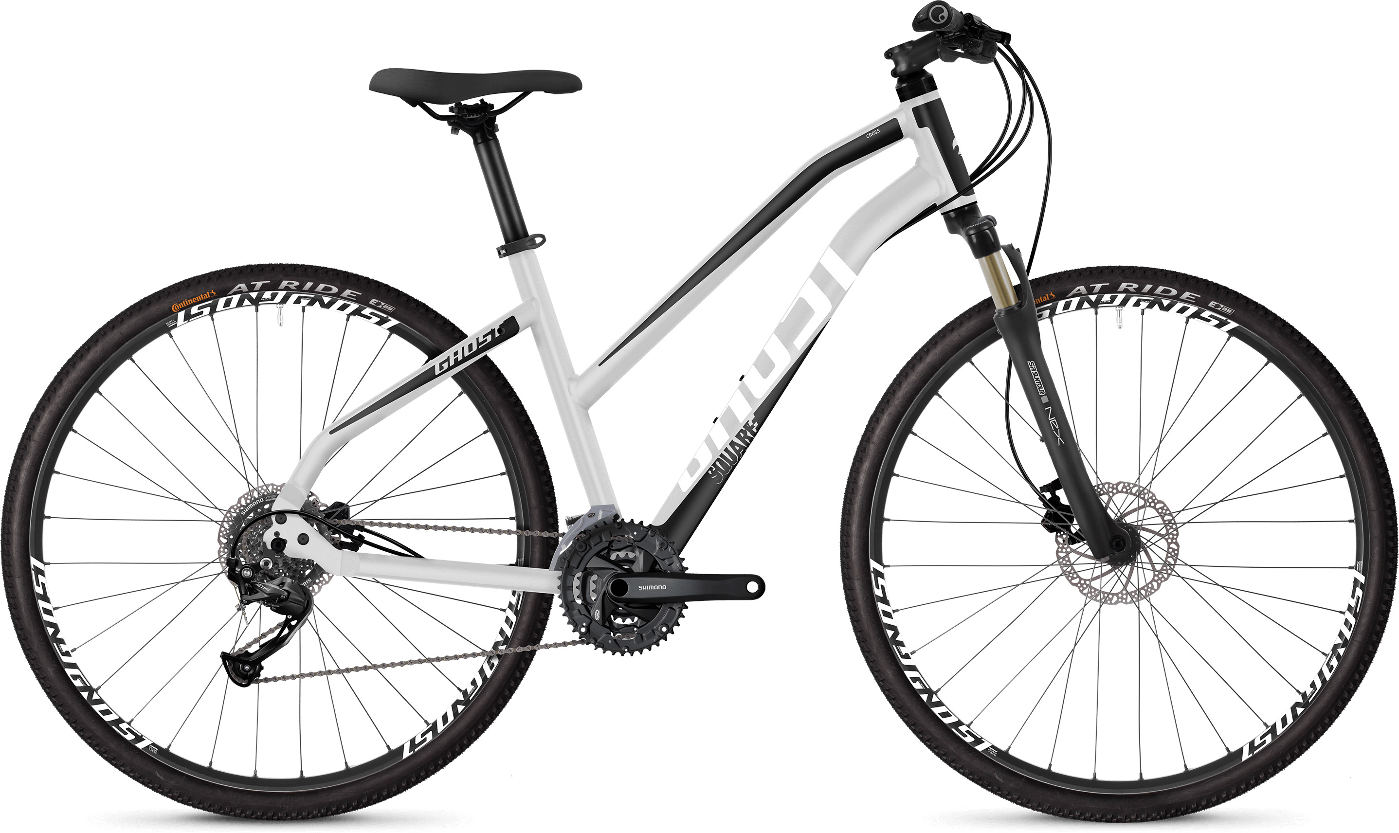 Ghost Square Cross 1.8 Women's Bike (2019) | City-cykler