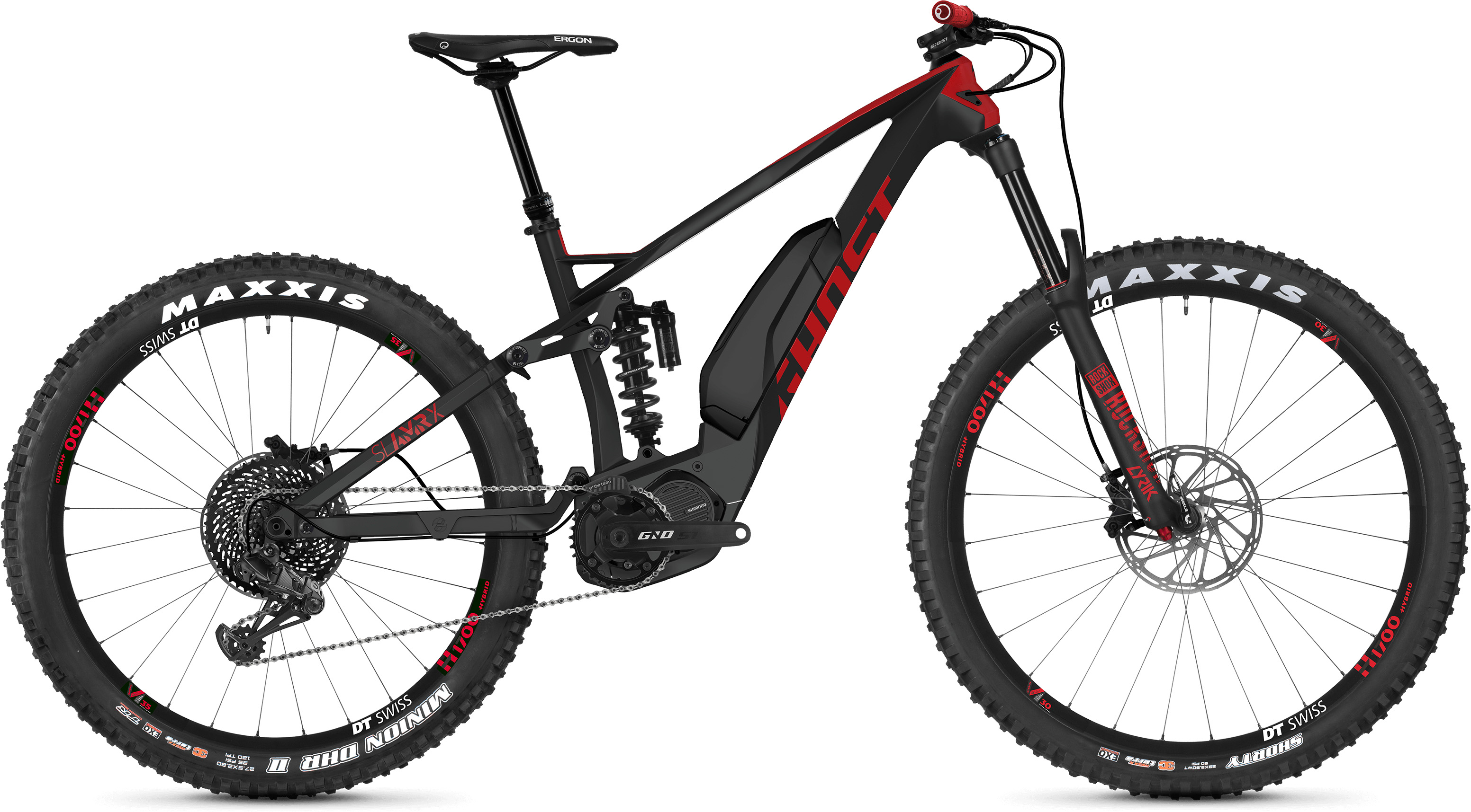 Ghost Slamr X S7.7+ Full Suspension E-Bike (2019) | Mountainbikes