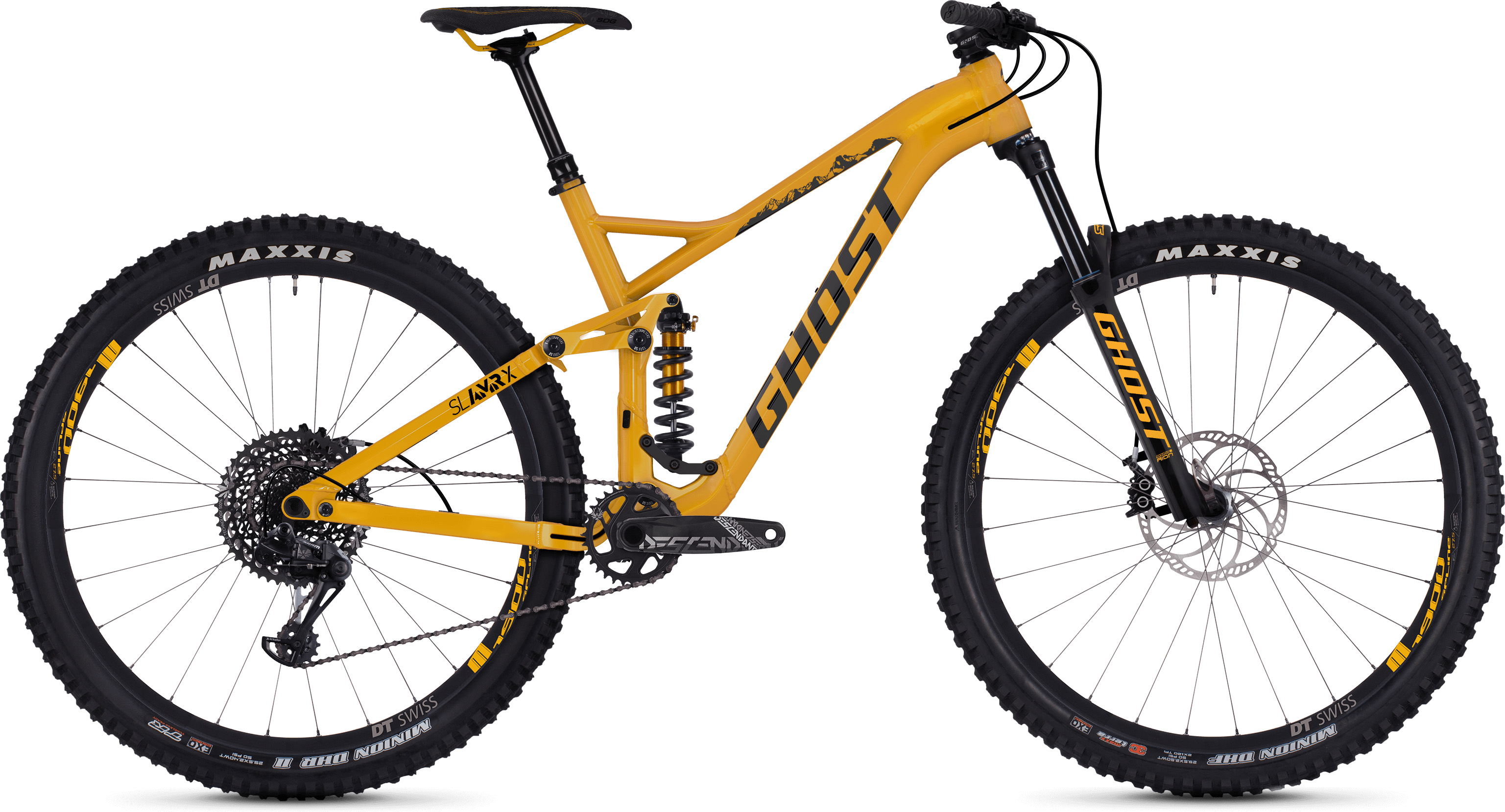 Ghost SL AMR X5.9 Full Suspension (2019) | Mountainbikes