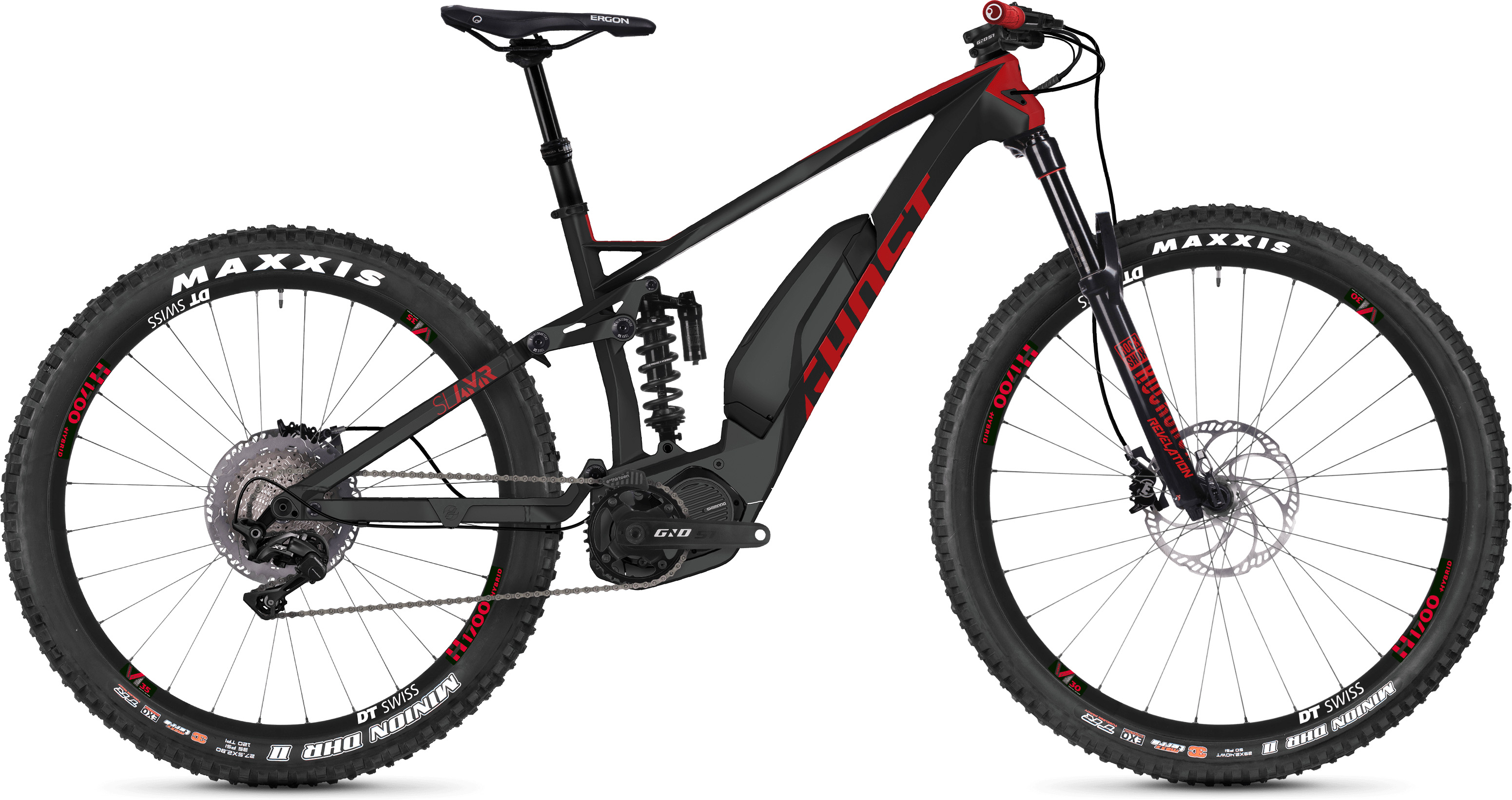 Ghost Slamr S6.7+ Full Suspension E-Bike (2019) | City-cykler