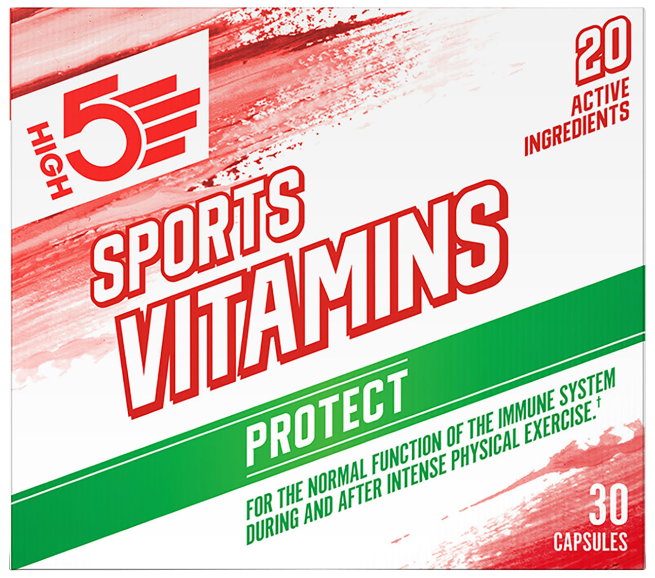 HIGH5 Sports Vitamins (30 capsules) | Misc. Nutrition