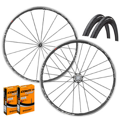 Fulcrum Racing Zero Wheels Clincher GP4000s II Bundle