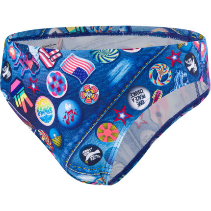 Speedo RetroPop 5cm Allover Brief